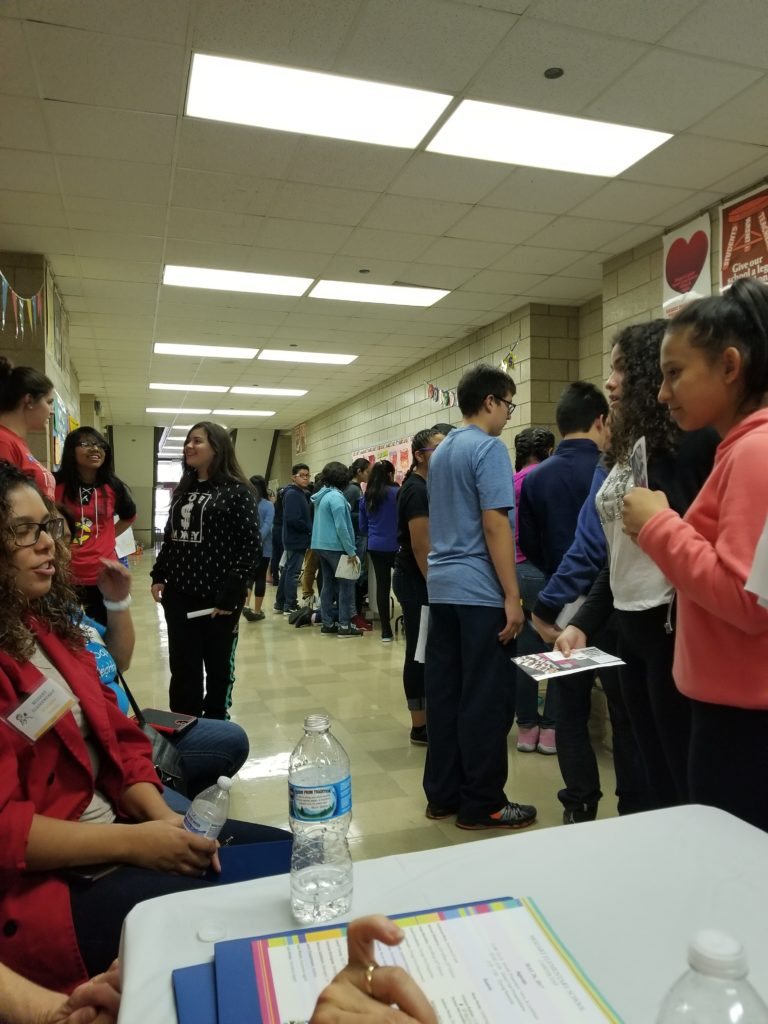 Mentoring Event on Career Day